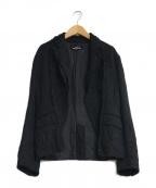 tricot COMME des GARCONS(トリココムデギャルソン)の古着「シワ加工再構築ジャケット」|ブラック