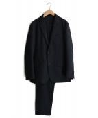 PLST(プラステ)の古着「ウォームポリエステルセットアップスーツ」|ネイビー