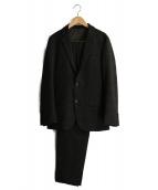 PLST(プラステ)の古着「ウォームポリエステルセットアップスーツ」|ブラウン