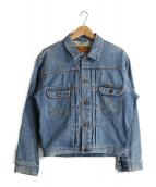 Wrangler(ラングラ)の古着「デニムジャケット」|インディゴ