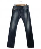 DIESEL(ディーゼル)の古着「テーパードデニムパンツ」|インディゴ