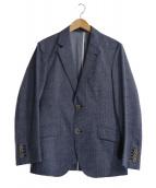 MENS BIGI(メンズビギ)の古着「クールドッツジャケット」|ブルー