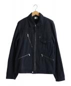 C.P COMPANY(シーピーカンパニ)の古着「コットンジャケット」|ネイビー