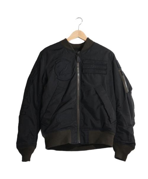 AVIREX(アビレックス)AVIREX (アビレックス) TIGER SHARK MA-1 ブラック サイズ:Mの古着・服飾アイテム