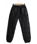 NANGA(ナンガ)の古着「TAKIBIダウンパンツ」|ブラック