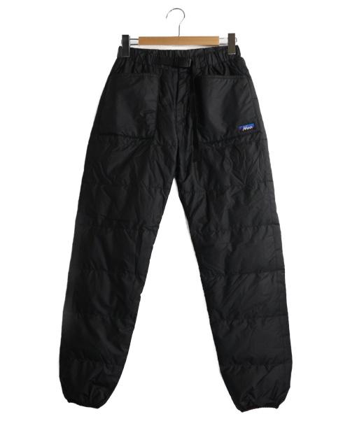 NANGA(ナンガ)NANGA (ナンガ) TAKIBIダウンパンツ ブラック サイズ:Mの古着・服飾アイテム