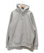 Supreme(シュプリーム)の古着「Micro Logo Hooded Sweatshirt」|グレー