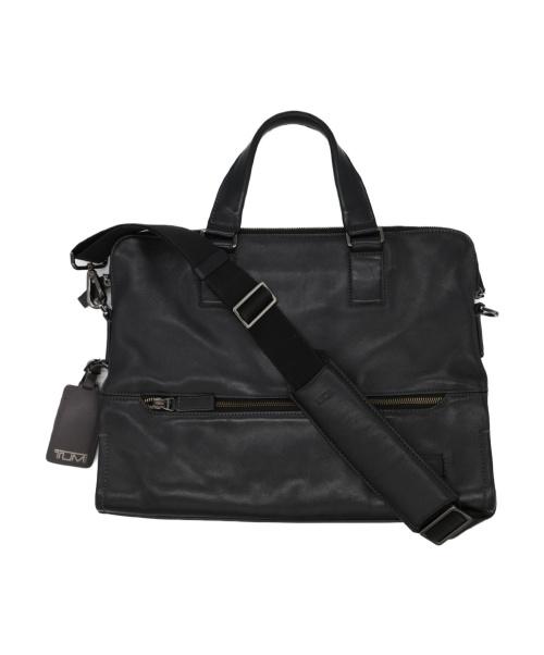 TUMI(トゥミ)TUMI (トゥミ) レザーブリーフケース ブラック 63016の古着・服飾アイテム