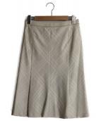 BURBERRY(バーバリーズ)の古着「膝丈スカート」|ベージュ