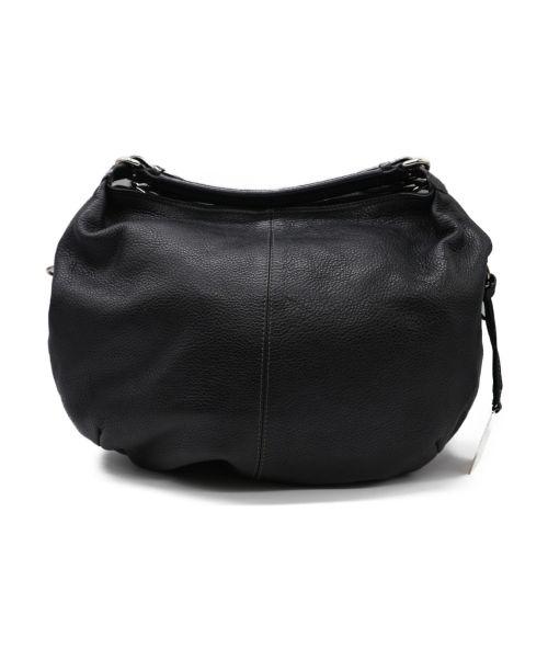 FURLA(フルラ)FURLA (フルラ) レザーバッグ ブラックの古着・服飾アイテム