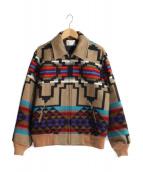 PENDLETON(ペンドルトン)の古着「80sネイティブ柄ジャケット」 ブラウン