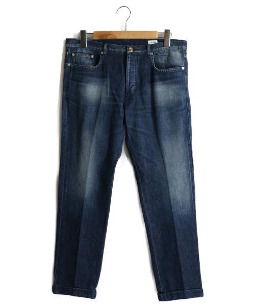 Paul Smith(ポールスミス)Paul Smith (ポールスミス) テーパードデニムパンツ インディゴ サイズ:XLの古着・服飾アイテム