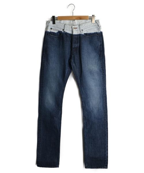 Paul Smith(ポールスミス)Paul Smith (ポールスミス) グラデデニムパンツ インディゴ サイズ:Mの古着・服飾アイテム