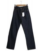 FORK&SPOON(フォークアンドスプーン)の古着「ストレートデニムパンツ」|インディゴ
