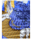 HERMES (エルメス) カレプリーツスカーフ ブルー:15800円