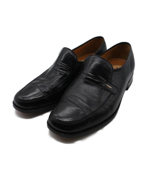 MARELLI Refreshoe(マレリー リフレッシュー)MARELLI Refreshoe (マレリー リフレッシュー) レザーローファー ブラック サイズ:25.5cmの古着・服飾アイテム
