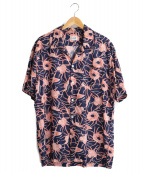 Schott(ショット)の古着「ハワイアンシャツ」|ネイビー