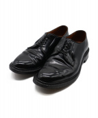 Alden(オールデン)の古着「プレーントゥシューズ」|ブラック