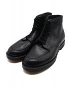 Alden(オールデン)の古着「タンカーブーツ」 ブラック