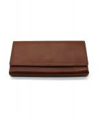 MARGARET HOWELL idea(マーガレットハウエルアイデア)の古着「長財布」|キャメル