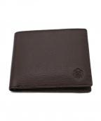 Dubeige(ドゥベージュ)の古着「2つ折り財布」|ダークブラウン