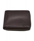MARGARET HOWELL idea(マーガレットハウエルアイデア)の古着「2つ折り財布」|ダークブラウン