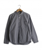 RINEN(リネン)の古着「ギンガムチェックシャツ」|ブルー