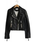 ISABEL MARANT ETOILE(イザベルマラン エトワール)の古着「ライダースジャケット」|ブラック