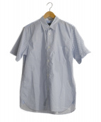 COMME des GARCONS HOMME(コムデギャルソンオム)の古着「半袖シャツ」|ブルー