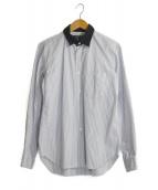 ()の古着「カラー切替シャツ」 ブルー