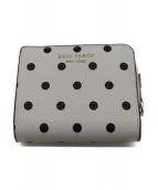Kate Spade(ケイトスペード)の古着「コンパクト2つ折り財布」|ホワイト