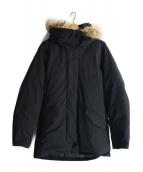URBAN RESEARCH(アーバンリサーチ)の古着「グリーンダウンフードコート」|ブラック