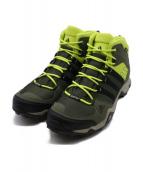 adidas(アディダス)の古着「防水トレッキングブーツ」|グレー×イエロー
