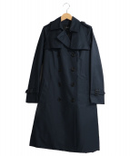 allureville(アルアバイル)の古着「ライナー付トレンチコート」|ネイビー