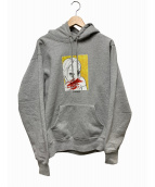 Supreme(シュプリーム)の古着「Nose Bleed Hooded Sweatshirt」|グレー