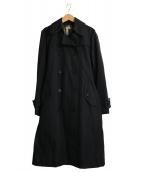 BURBERRY(バーバリー)の古着「ライナー付トレンチコート」|ブラック