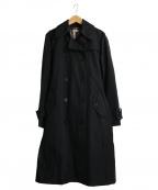 BURBERRY()の古着「ライナー付トレンチコート」|ブラック