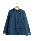 SIERRA DESIGNS(シェラデザインズ)の古着「60/40ショートパーカ」 ブルー