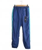 whiz limited(ウィズリミテッド)の古着「サイドライントラックパンツ」 ネイビー
