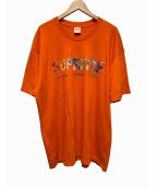 Supreme(シュプリーム)の古着「Rocks TEE」|オレンジ