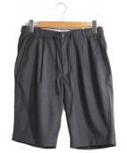 BEAUTY&YOUTH(ビューティーアンドユース)の古着「イージーショートパンツ」|グレー