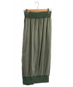 LIMI feu(リミフゥ)の古着「MA-1スカート」|オリーブ