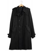 Dior Homme(ディオールオム)の古着「トレンチコート」|ブラック