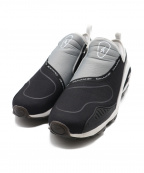 REEBOK()の古着「DMX RUN 10 SLIP」|ブラック×グレー
