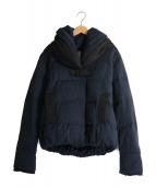 YOSOOU(ヨソオウ)の古着「Two Piece Collar Jacket」|ネイビー