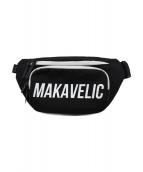 MAKAVELIC(マキャベリック)の古着「ウエストバッグ」|ブラック