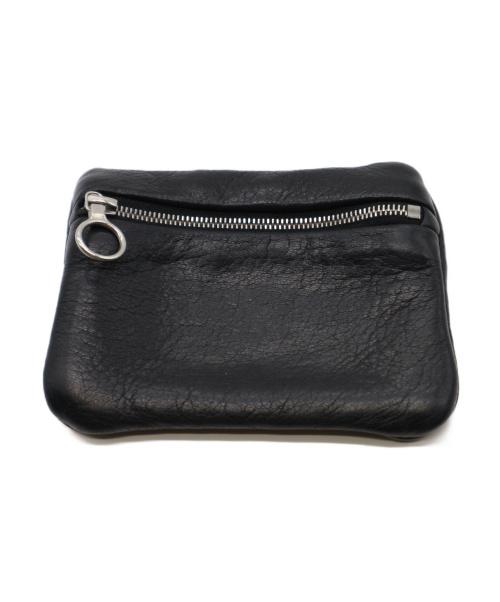Aeta(アエタ)aeta (アエタ) レザーコインケース ブラックの古着・服飾アイテム