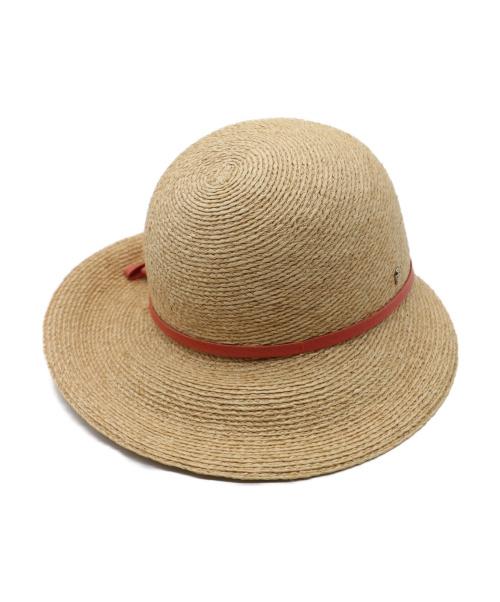 HELEN KAMINSKI(ヘレンカミンスキー)HELEN KAMINSKI (ヘレンカミンスキー) 帽子 ベージュの古着・服飾アイテム