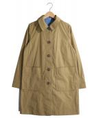 MACKINTOSH PHILOSOPHY(マッキントッシュフィロソフィー)の古着「はっ水リバーシブルコート」|ベージュ×スカイブルー