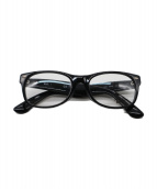 RAY-BAN(レイバン)の古着「伊達眼鏡」 ブラック